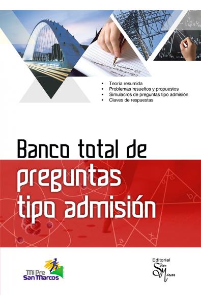 Banco total de preguntas tipo admisión