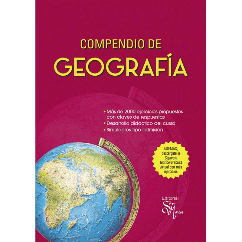 Compendio de Geografía - Editorial San marcos