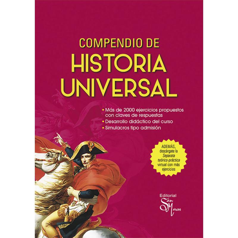 Compendio de Historia Universal - Editorial San marcos