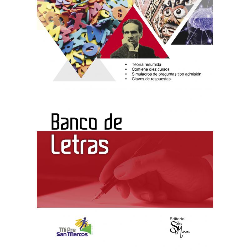 Banco de Letras - Editorial San marcos