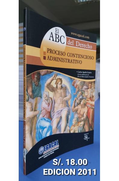 El ABC del Derecho: Proceso Contencioso Administrativo