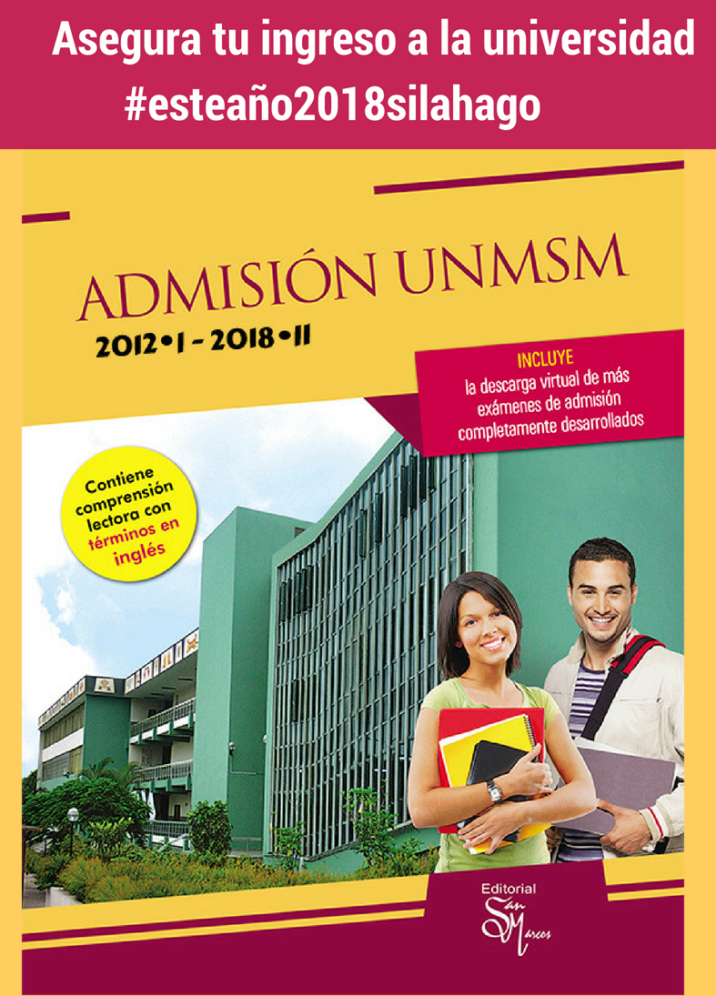 Admisión UNMSM 2009-I/2015-II
